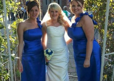 Adele Hardy & bridesmaids